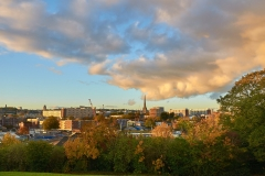 Bristol sunset from Victoria Park